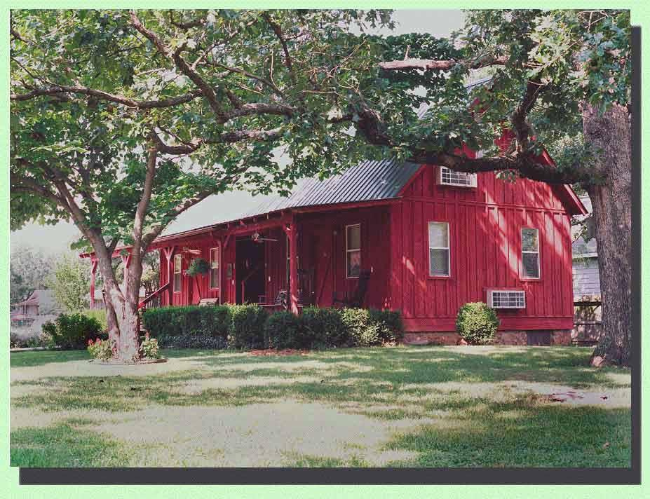 Cabins By The Square In Mountain View Arkansas For Rent