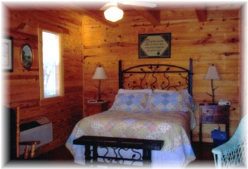 The Cabin Is Divided Into Three Separate Accomodations. The Two Downstairs  Accomodations Are Separate Rooms Divided By An Old Style Dog Trot Breezeway  For ...